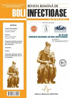 Revista Romana de Boli Infectioase   Volumul XV, Nr. 3, An 2012