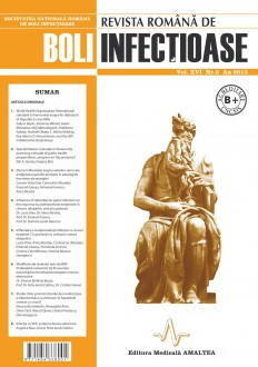 Revista Romana de Boli Infectioase | Volumul XVI, Nr. 3, An 2013