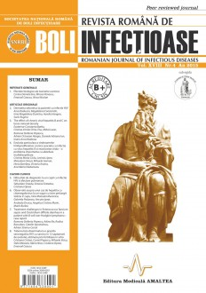 Revista Romana de Boli Infectioase | Vol. XVIII, No. 4, 2015