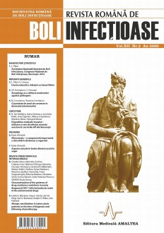 Revista Romana de Boli Infectioase | Volumul XII, Nr. 2, An 2009