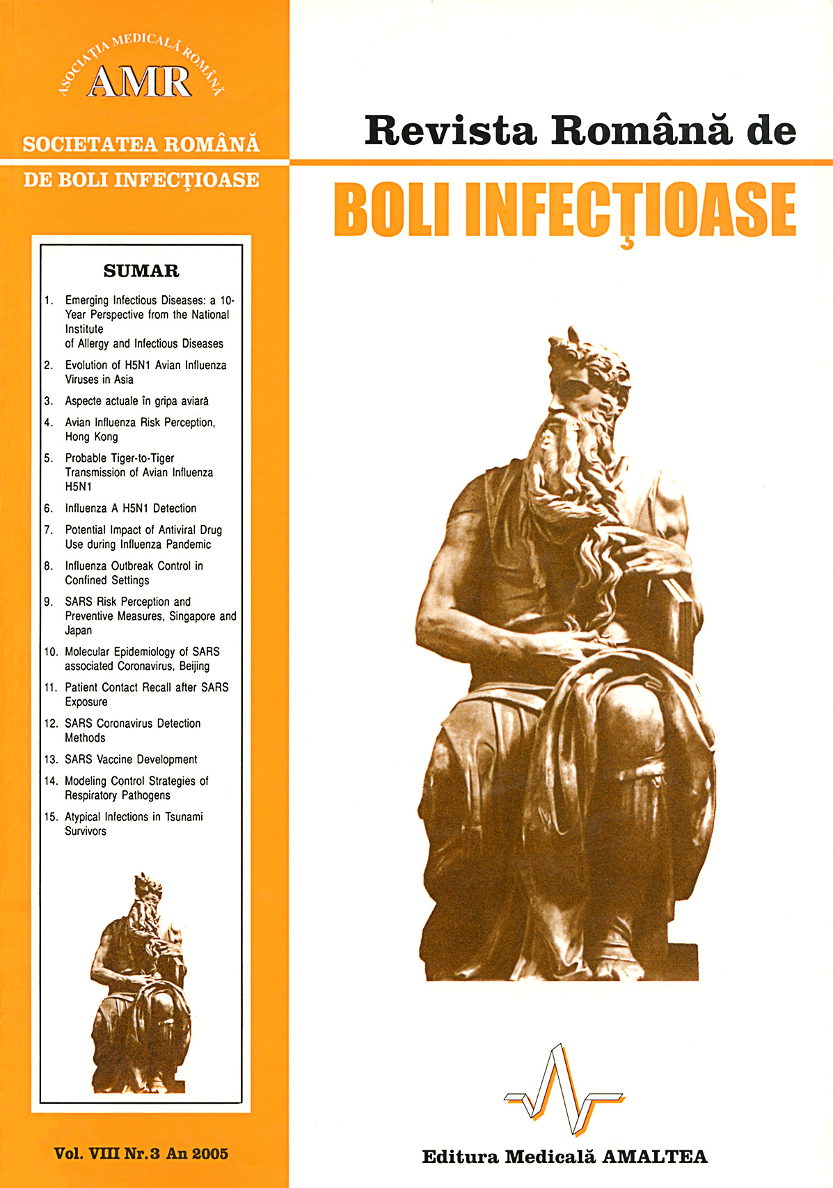 Revista Romana de Boli Infectioase | Vol. VIII, No. 3, 2005