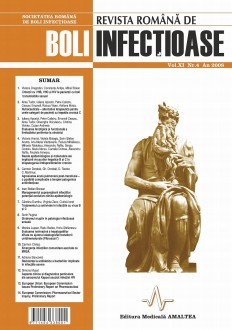 Romanian Journal of Infectious Diseases | Vol. XI, No. 4, Year 2008