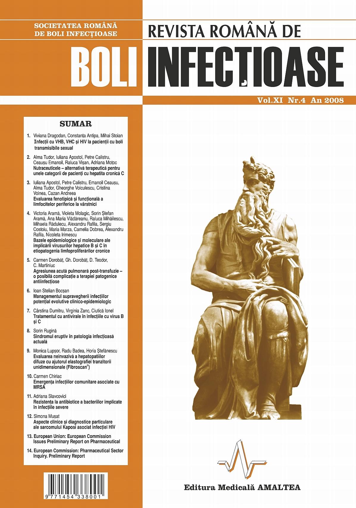 Revista Romana de Boli Infectioase | Vol. XI, No. 4, 2008
