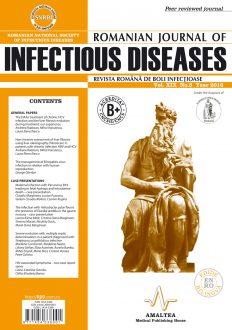 Revista Romana de Boli Infectioase | Vol. XIX, No. 3, 2016