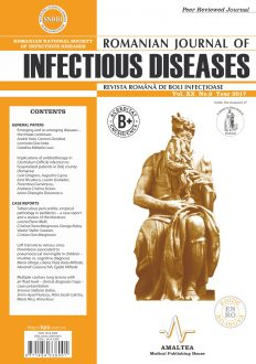 Romanian Journal of Infectious Diseases | Vol. XX, No. 2, Year 2017