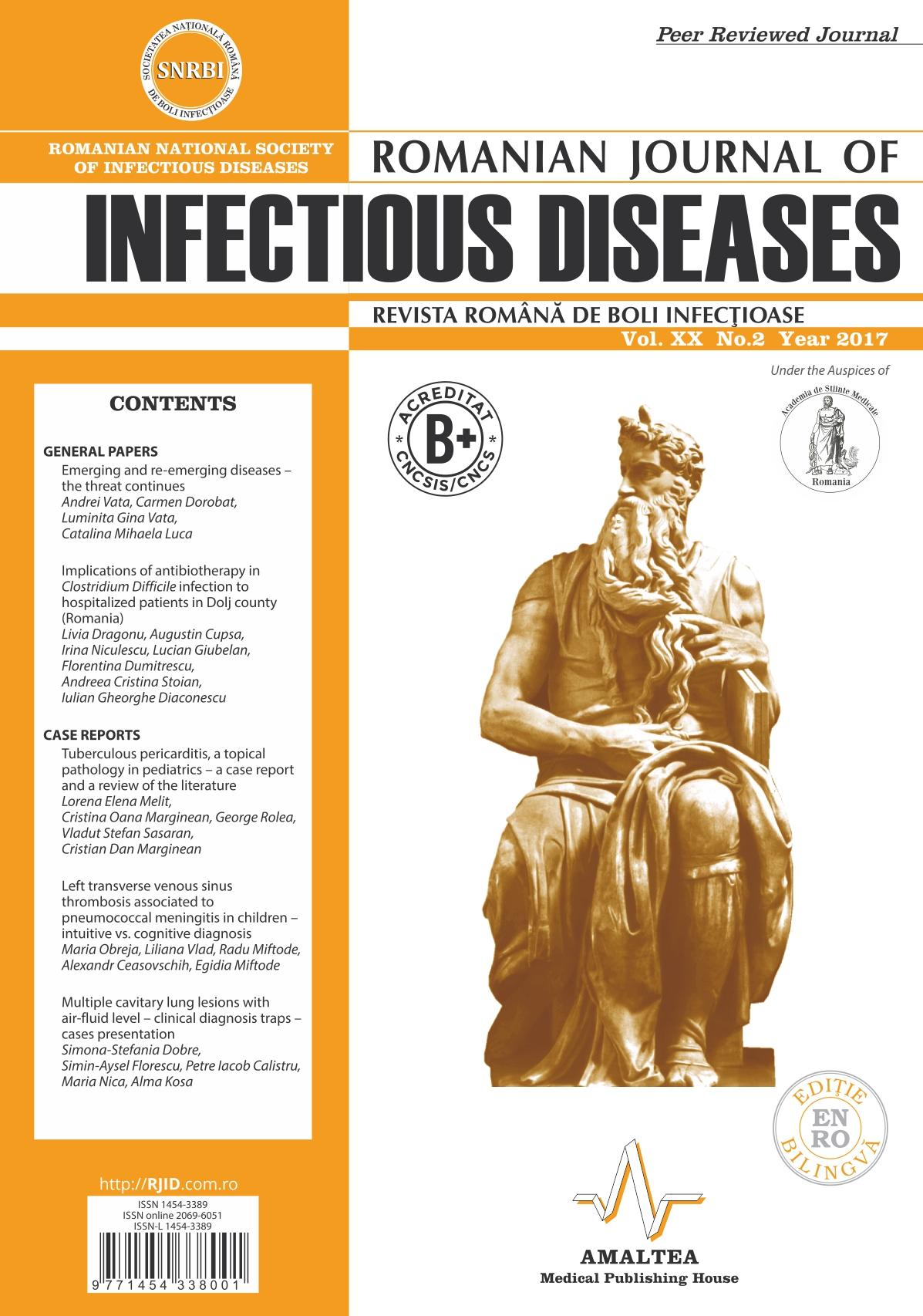 Revista Romana de Boli Infectioase | Vol. XX, No. 2, 2017