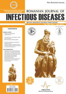 Romanian Journal of Infectious Diseases | Vol. XXI, No. 1, Year 2018