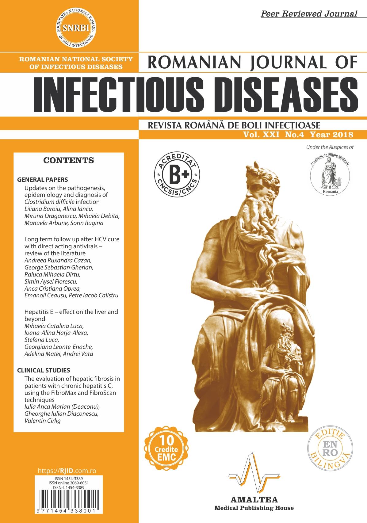 Revista Romana de Boli Infectioase | Vol. XXI, No. 4, 2018