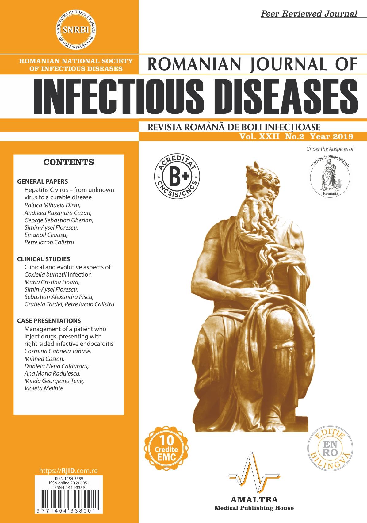 Revista Romana de Boli Infectioase | Vol. XXII, No. 2, 2019