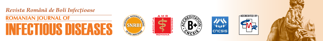 Romanian Journal of Infectious Diseases Logo