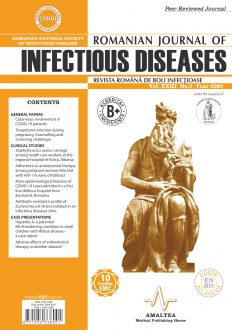 Romanian Journal of Infectious Diseases   Vol. XXIII, No. 3, Year 2020