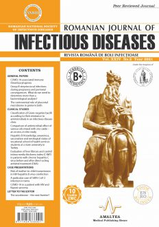 Romanian Journal of Infectious Diseases | Vol. XXIV, No. 2, Year 2021